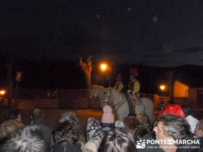 Senderismo Sierra Norte Madrid - Belén Viviente de Buitrago; senderismo en extremadura
